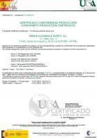 Certificado UCA FENIKS
